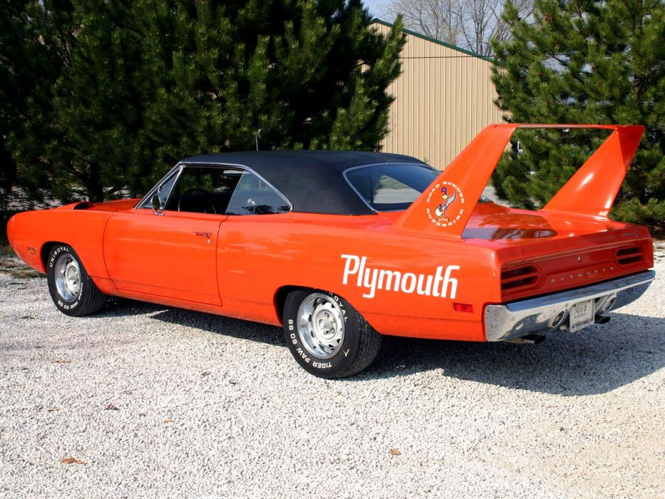 1970 Plymouth Superbird classic muscle      f wallpaper