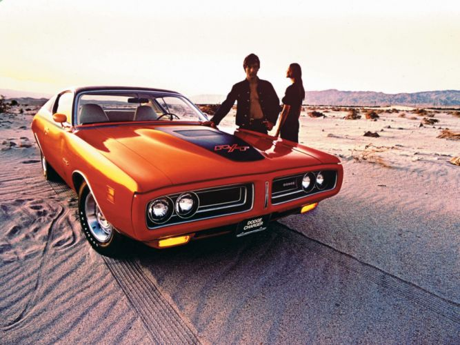 1971 Dodge Charger classic muscle wallpaper