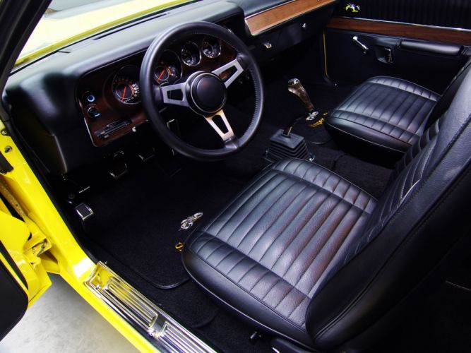 1971 Dodge Charger Super Bee classic muscle interior wallpaper