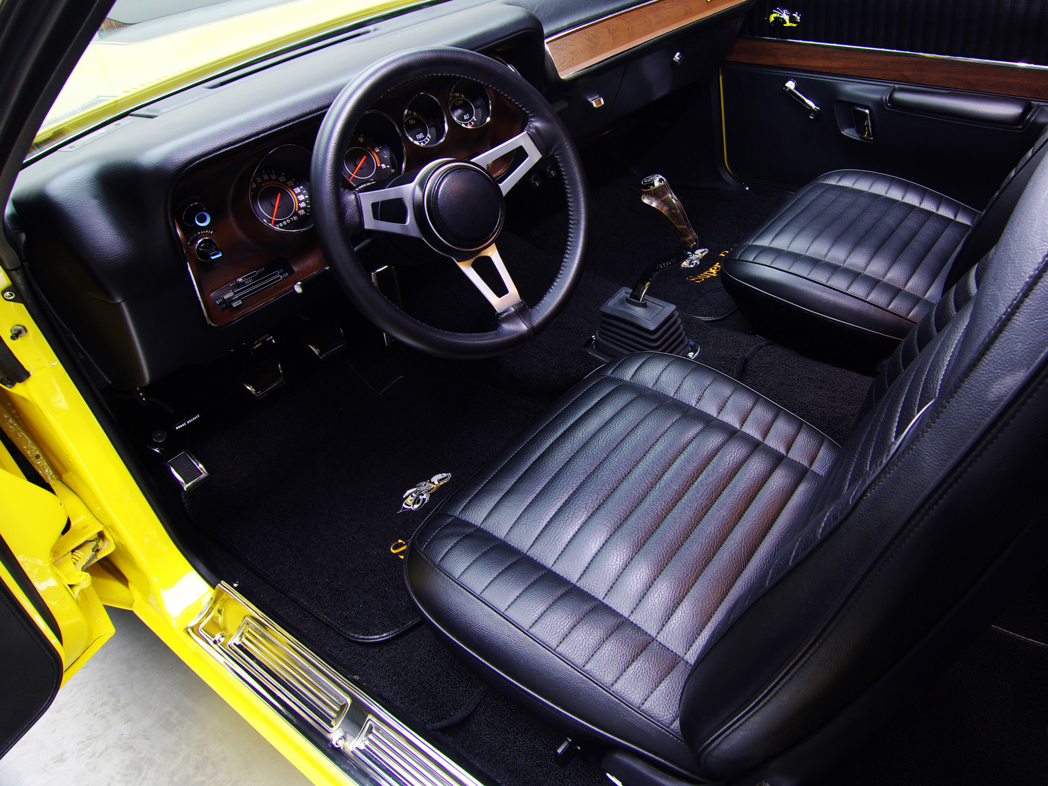 1971 Dodge Charger Super Bee Classic Muscle Interior