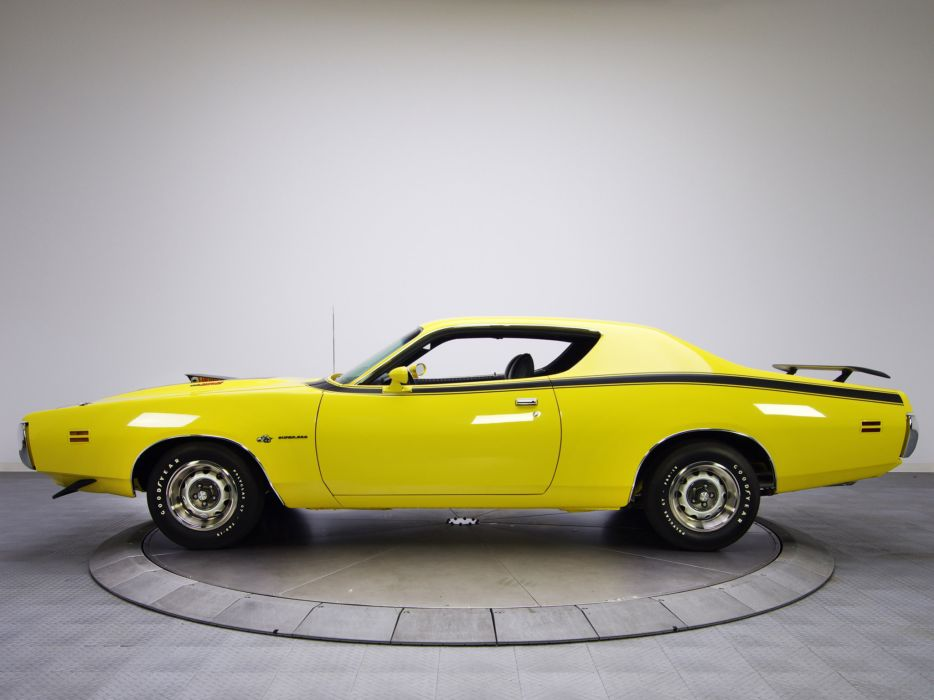 1971 Dodge Charger Super Bee classic muscle wallpaper