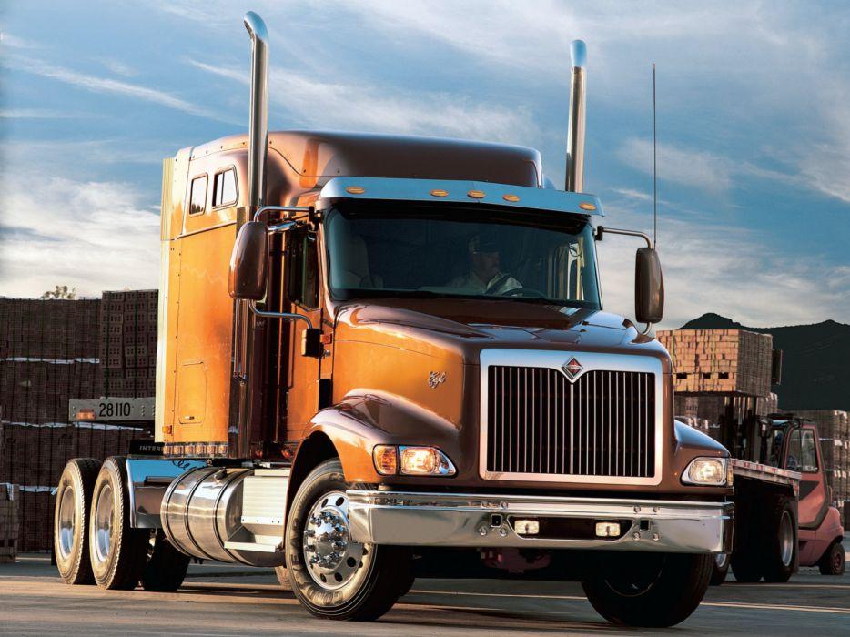2004 International 9400i semi tractor truck wallpaper