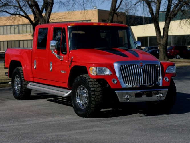 2004 International MXT 4x4 offroad truck f wallpaper
