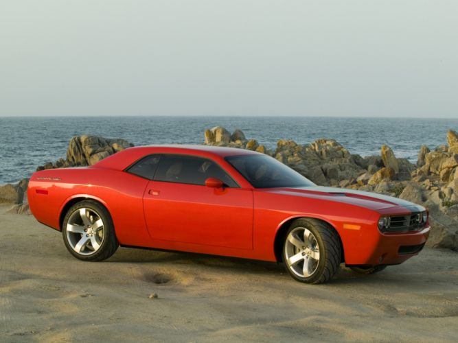 2005 Dodge Challenger Concept muscle h wallpaper