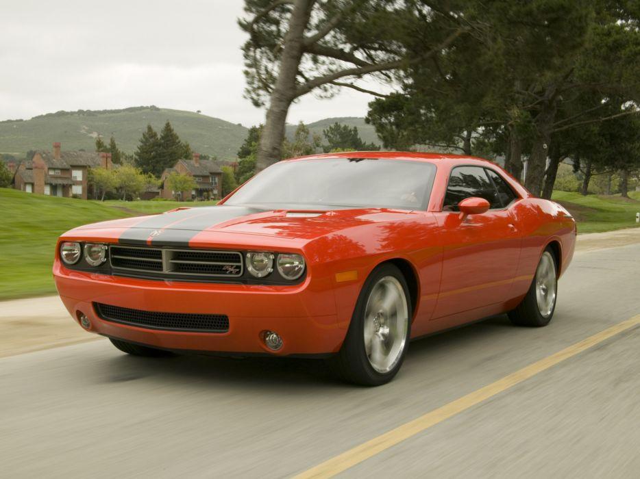 2005 Dodge Challenger Concept muscle      h wallpaper