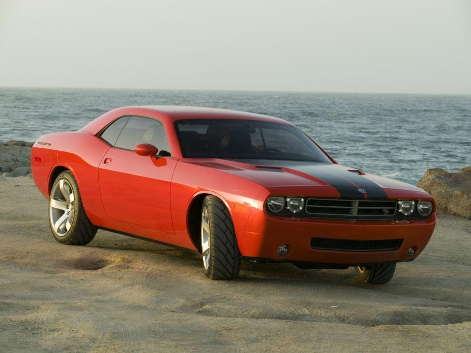 2005 Dodge Challenger Concept muscle wallpaper
