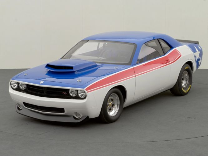 2006 Dodge Challenger Super Stock Concept drag racing race muscle hot rods rod gd wallpaper