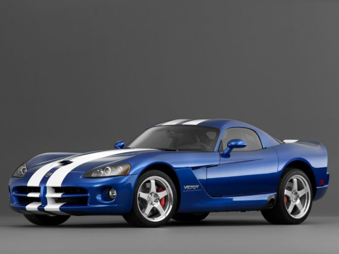 2006 Dodge Viper SRT-10 Coupe supercar supercars muscle wallpaper