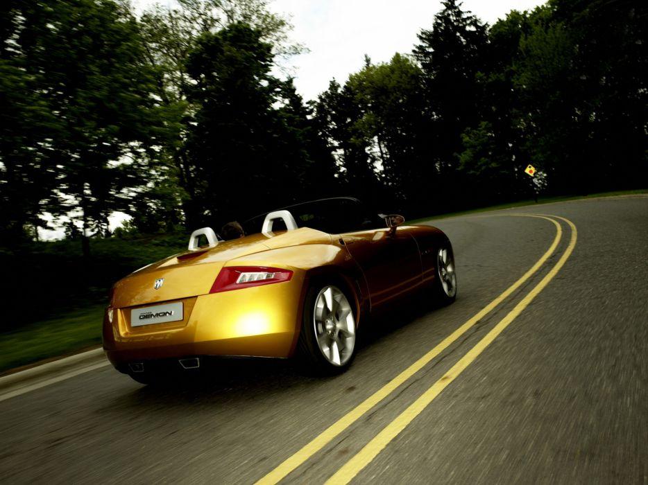 2007 Dodge Demon Roadster Concept sportcar wallpaper