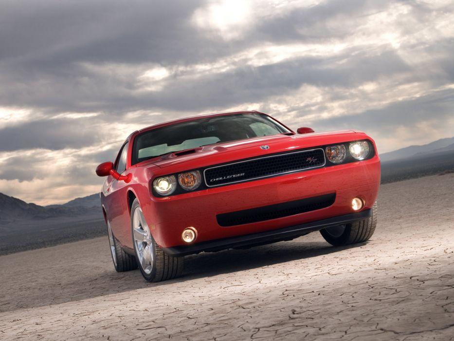 2008 Dodge Challenger R-T muscle wallpaper