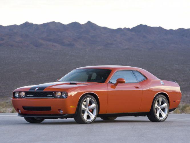 2008 Dodge Challenger SRT-8 muscle gd wallpaper