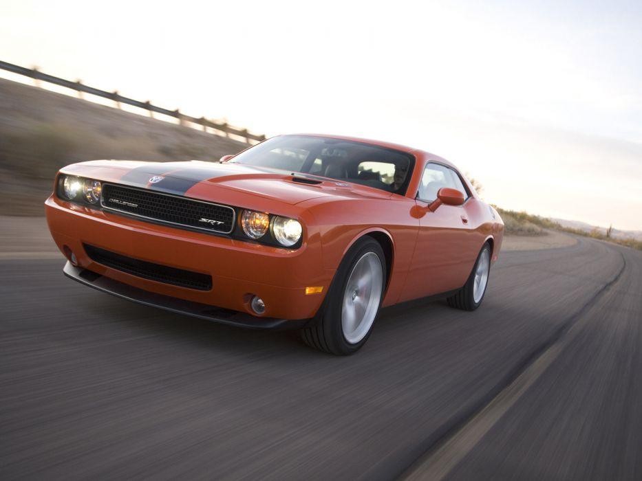 2008 Dodge Challenger SRT-8 muscle   d wallpaper