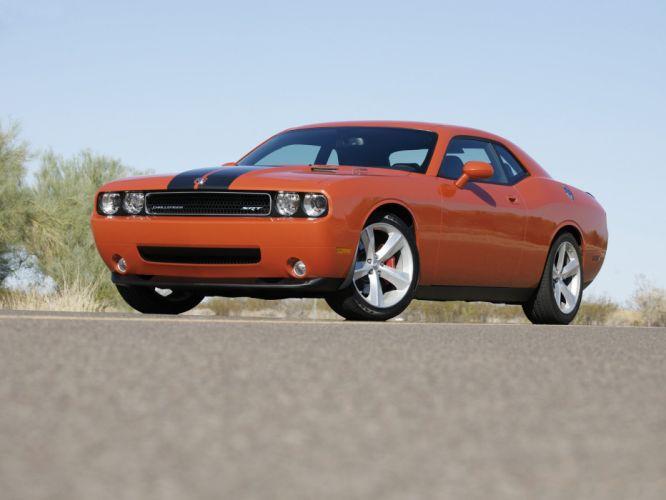 2008 Dodge Challenger SRT-8 muscle fw wallpaper