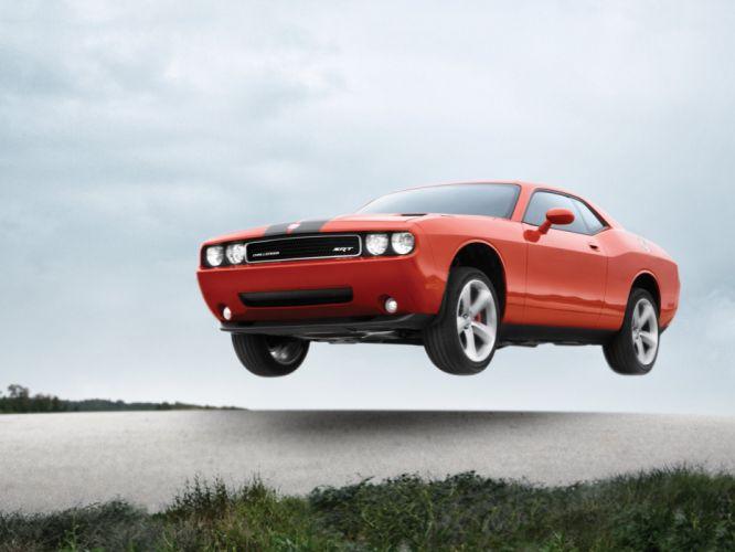 2008 Dodge Challenger SRT-8 muscle t wallpaper
