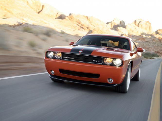 2008 Dodge Challenger SRT-8 muscle wallpaper