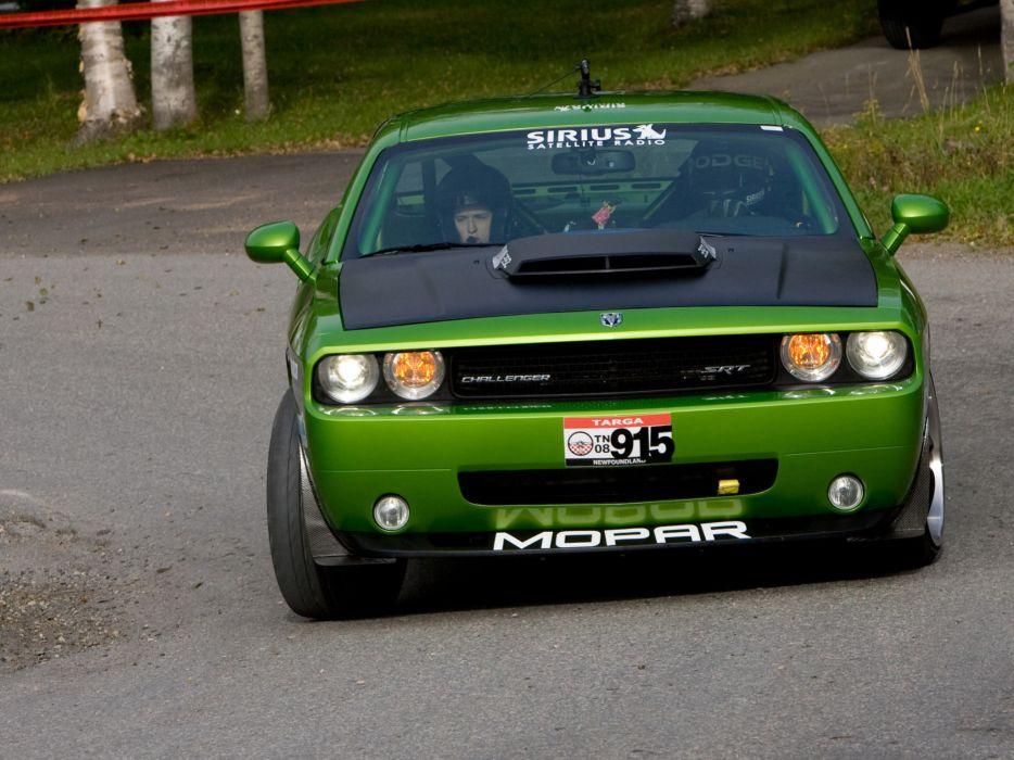 2008 Dodge Challenger Targa Mopar Concept muscle supercar supercars race racing         e wallpaper