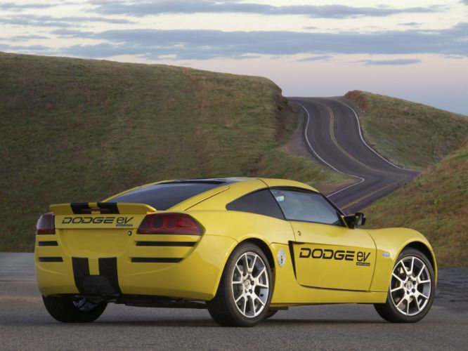 2008 Dodge eV Concept e-v sportcar g wallpaper
