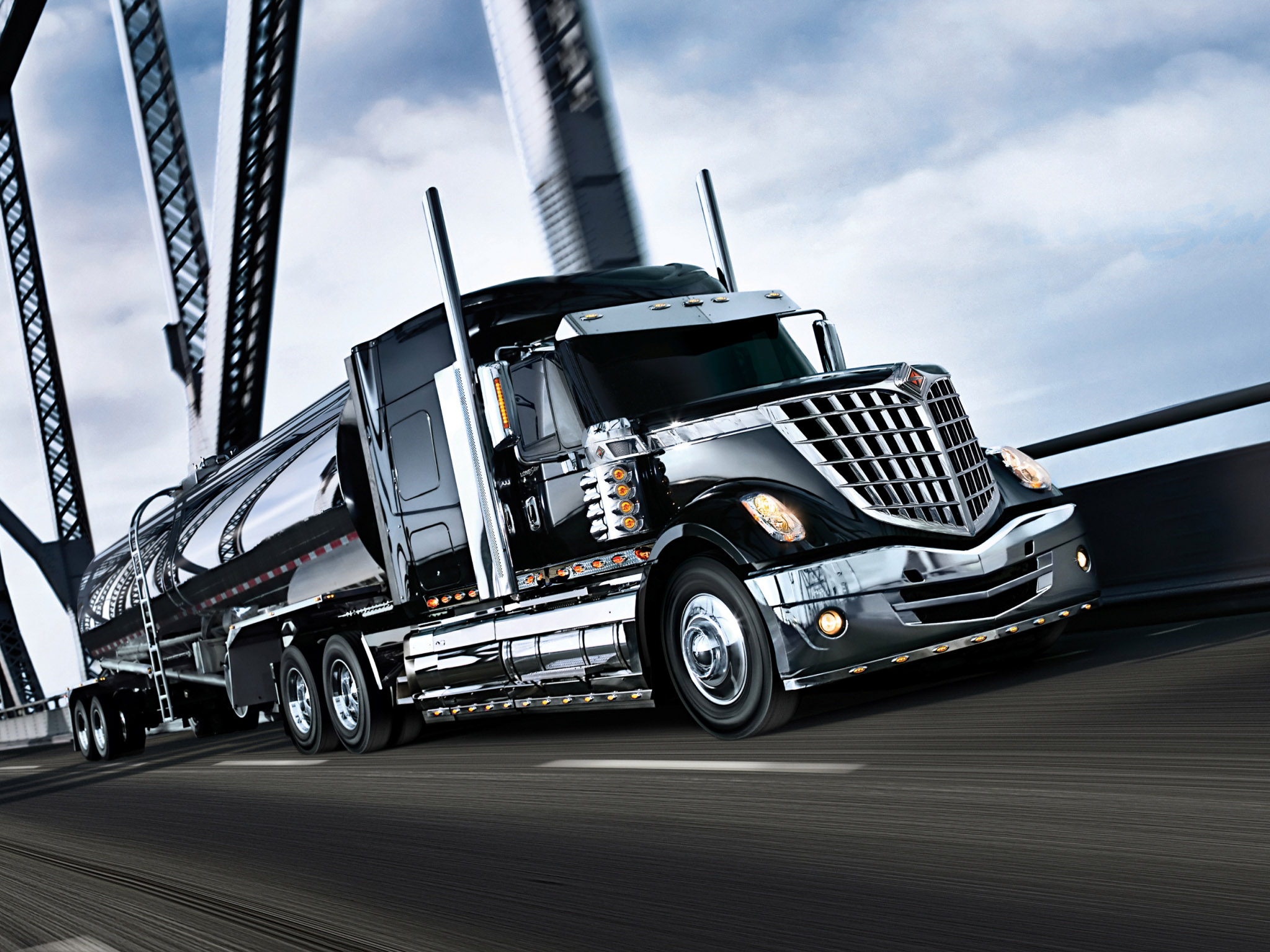 2008 International LoneStar Semi Tractor Truck Transport Fd Wallpaper