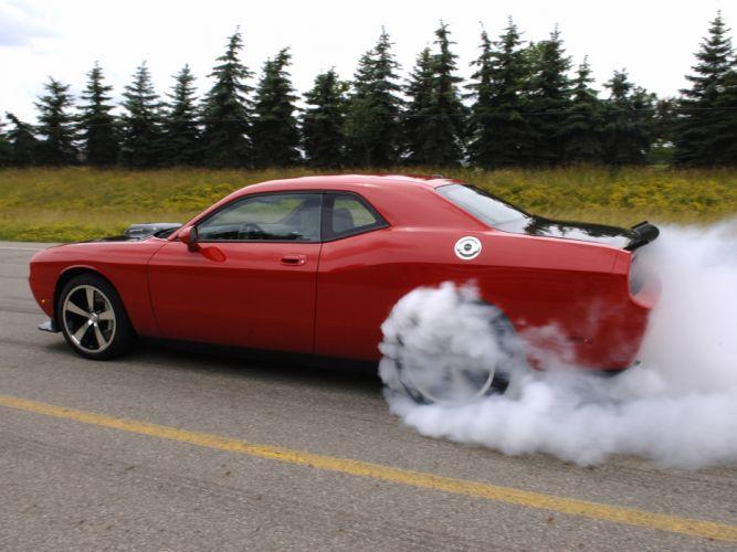 2009 Dodge Challenger SRT-10 Concept muscle supercar supercars hot rod rods g wallpaper