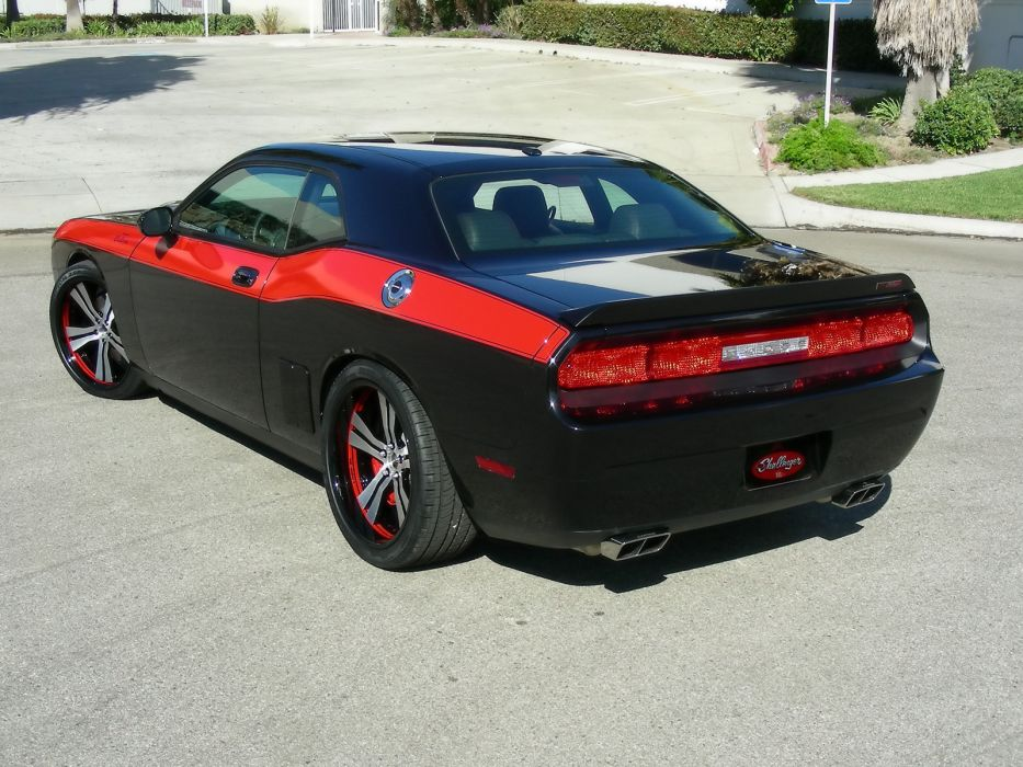 2009 Dodge Challenger Super muscle tuning hot rod rods wallpaper