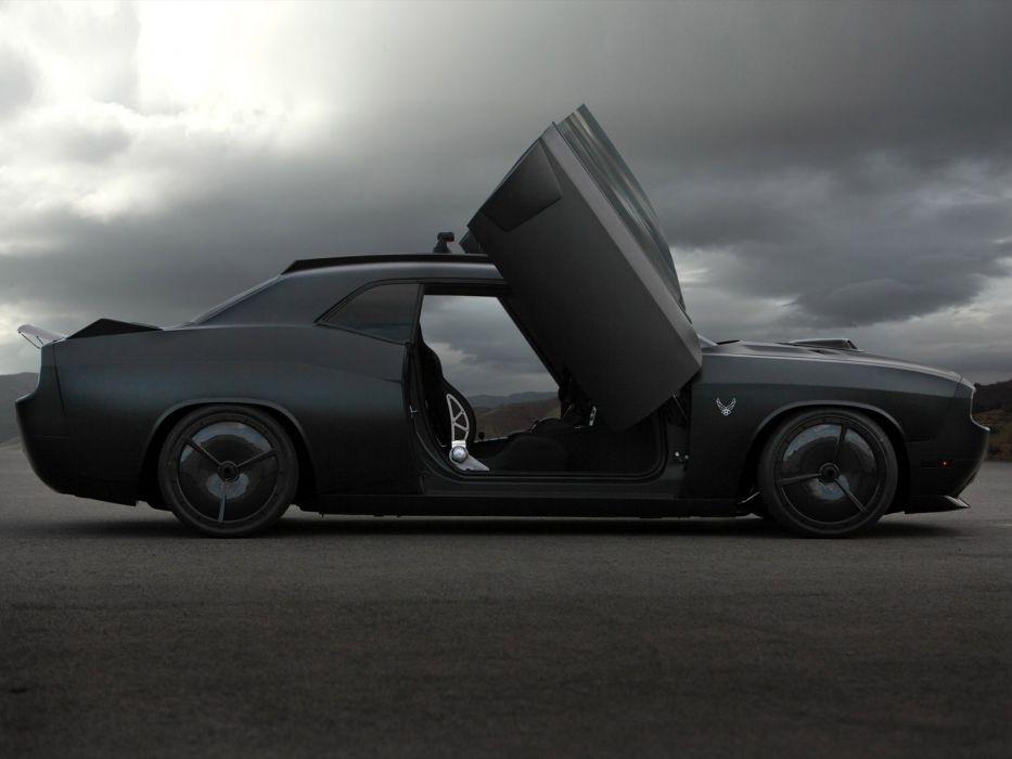 2009 Dodge Challenger Vapor custom concept muscle supercar supercars tuning     f wallpaper