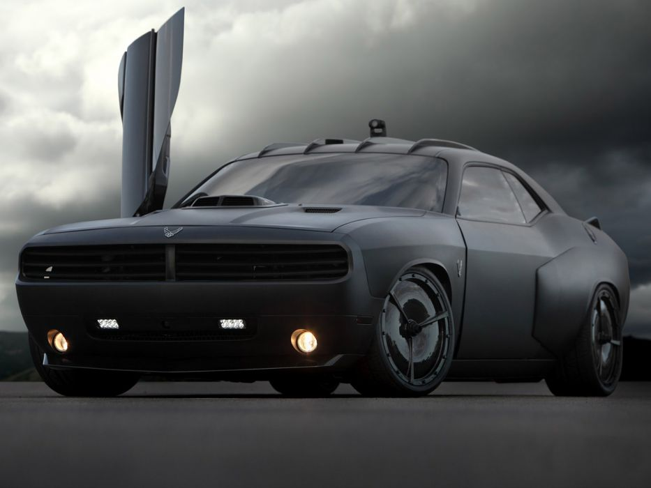 2009 Dodge Challenger Vapor custom concept muscle supercar supercars tuning   f wallpaper