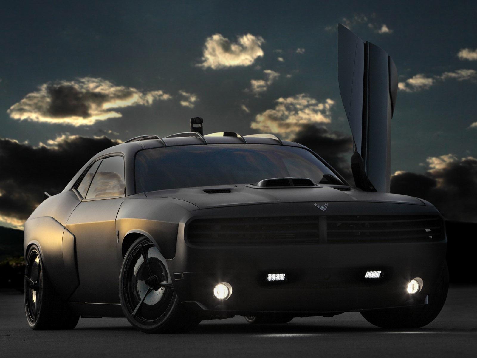 2009 Dodge Challenger Vapor Custom Concept Muscle Supercar