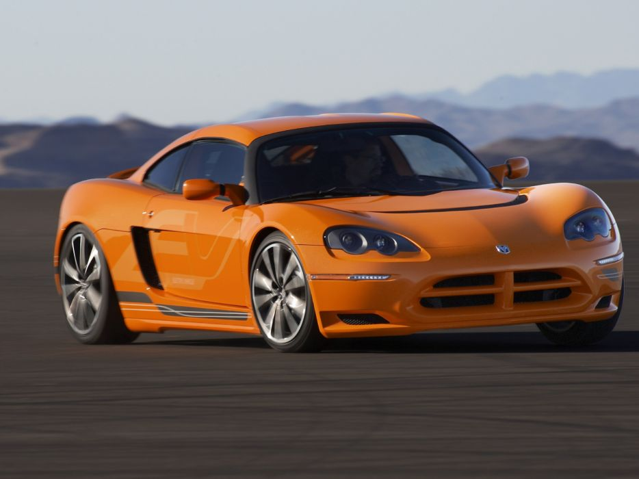 2009 Dodge Circuit E-V Concept supercar supercars       f wallpaper