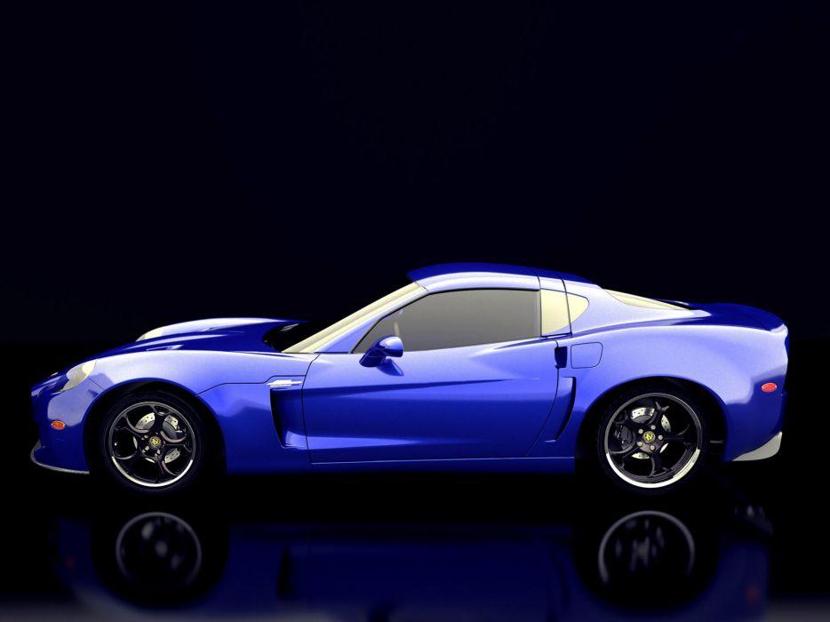 2009 SV-Motors 9 Competizione Design supercar supercars wallpaper