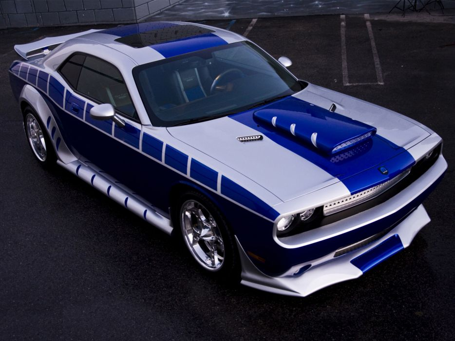 2010 Dodge Challenger Mopar Concept muscle hot rod rods wallpaper