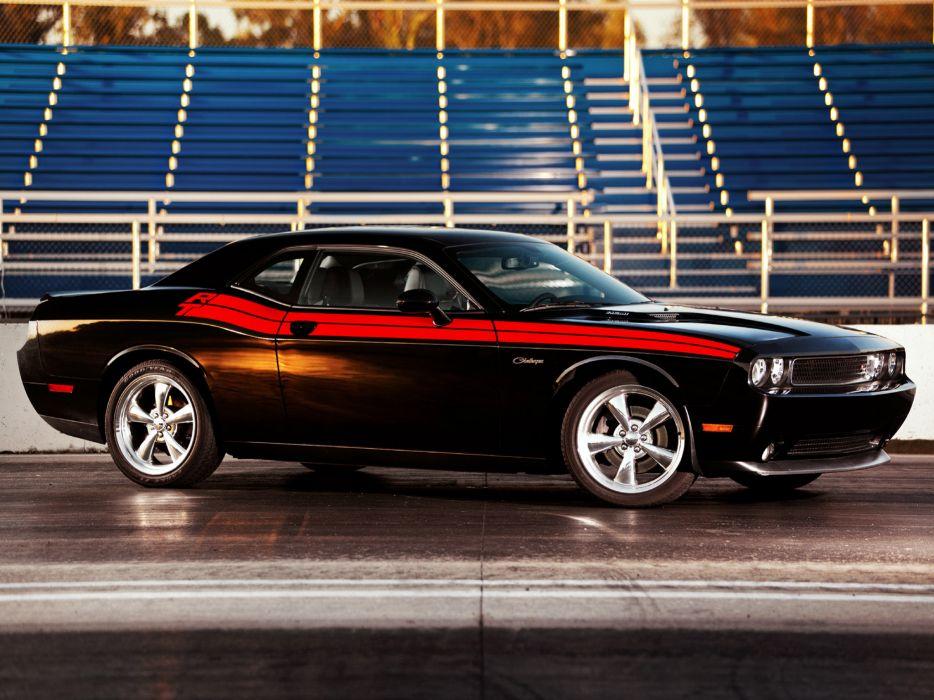 2010 Dodge Challenger R-T muscle d wallpaper