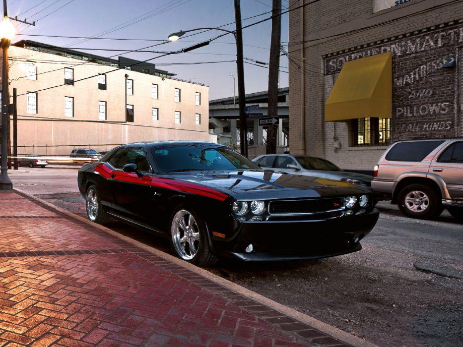 2010 Dodge Challenger R-T muscle wallpaper
