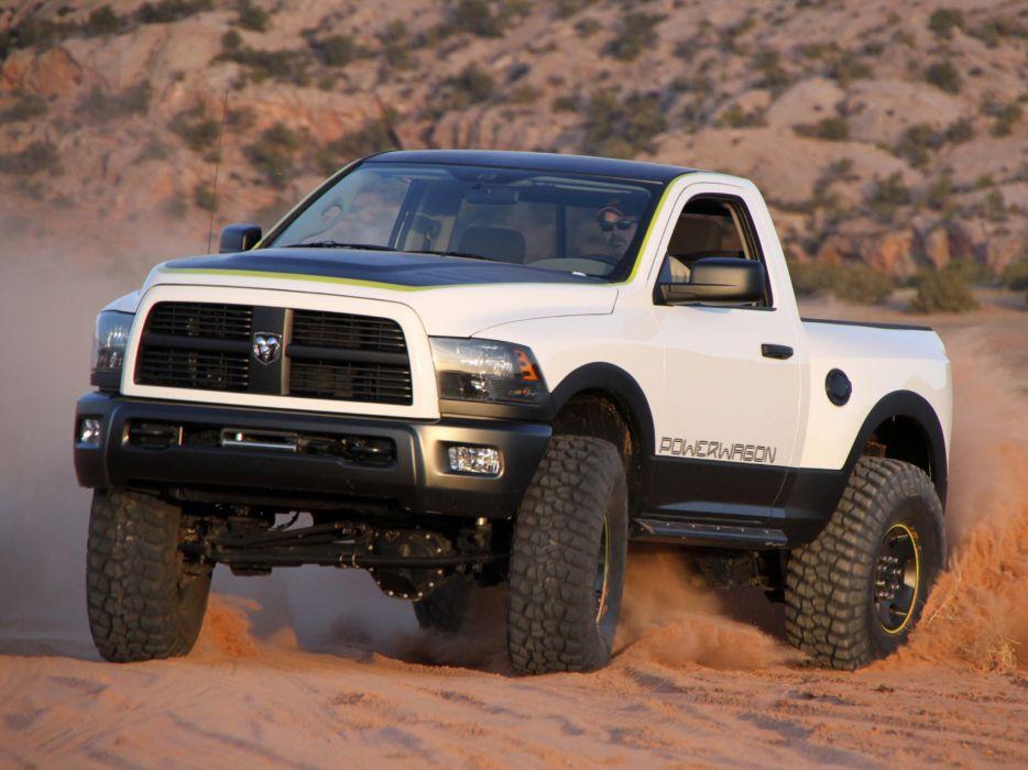 2010 Dodge Mopar RAM Power Wagon Concept truck offroad 4x4 wallpaper