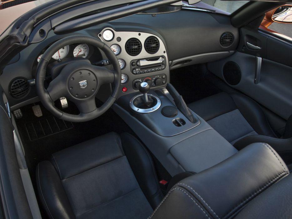 2010 Dodge Viper SRT-10 muscle supercar supercars interior      s wallpaper