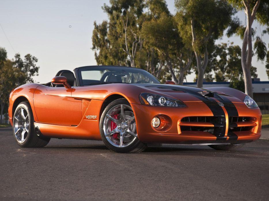 2010 Dodge Viper SRT-10 muscle supercar supercars wallpaper