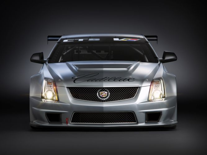 2011 Cadillac CTS-V Racing Coupe race muscle m wallpaper