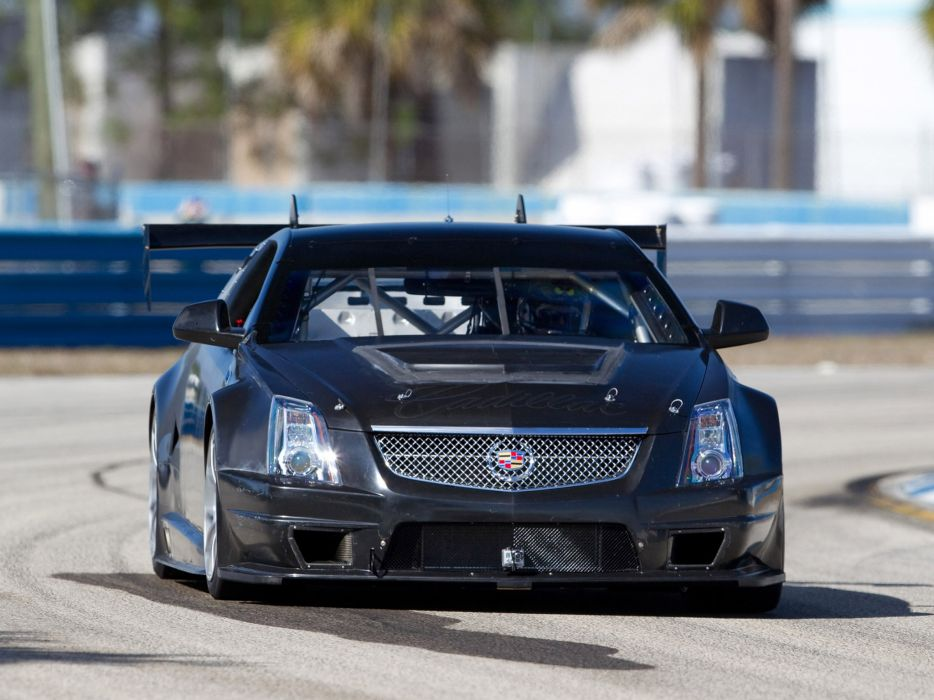 2011 Cadillac CTS-V Racing Coupe race muscle    gh wallpaper
