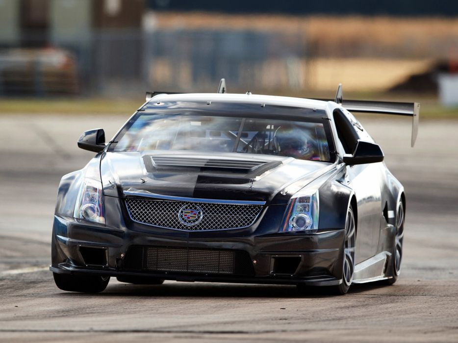 2011 Cadillac CTS-V Racing Coupe race muscle    g wallpaper