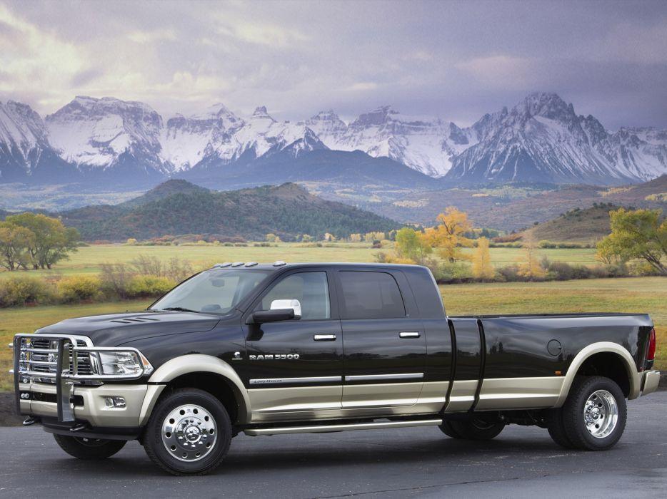 2011 Dodge Ram 5500 Long Hauler Concept truck wallpaper