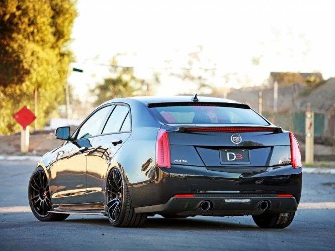 2012 Cadillac ATS D3 tuning muscle luxury wallpaper