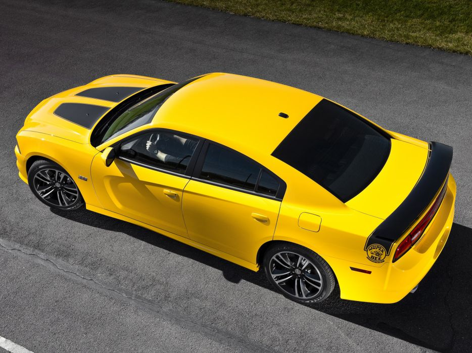 2012 Dodge Charger SRT8 Super Bee muscle wallpaper