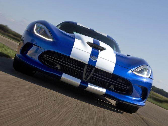 2012 Dodge SRT Viper GTS supercar supercars muscle d wallpaper