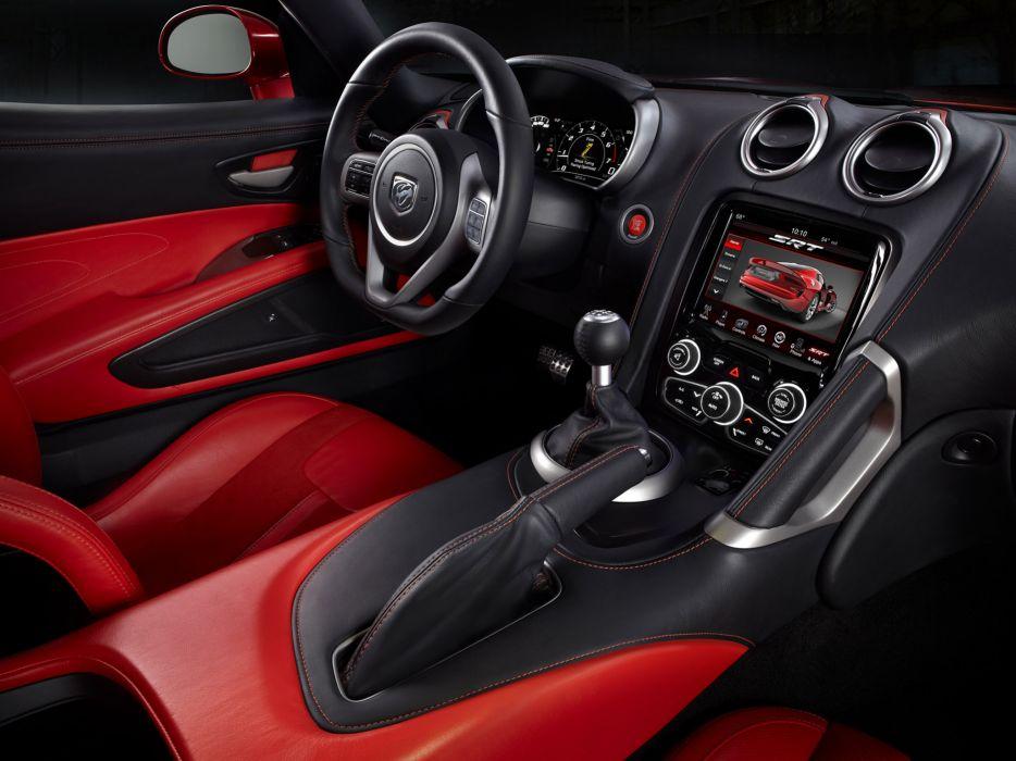 2012 Dodge SRT Viper GTS supercar supercars muscle interior wallpaper
