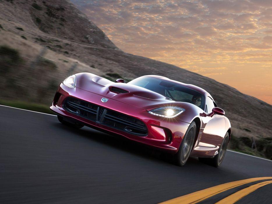 2012 Dodge SRT Viper GTS supercar supercars muscle wallpaper