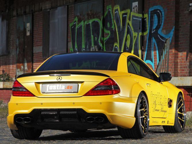 2012 Fostla AMG Mercedes Benz SL Lquid Gold R230 tuning supercar supercars n wallpaper