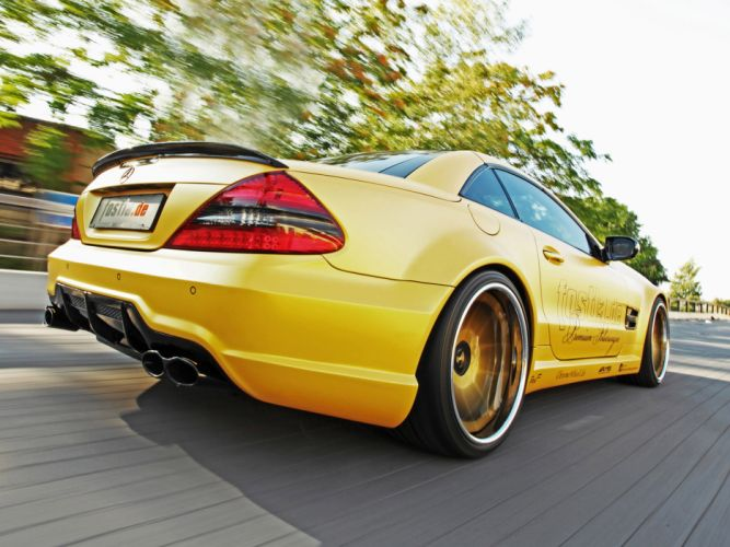 2012 Fostla AMG Mercedes Benz SL Lquid Gold R230 tuning supercar supercars wheel wheels gs wallpaper