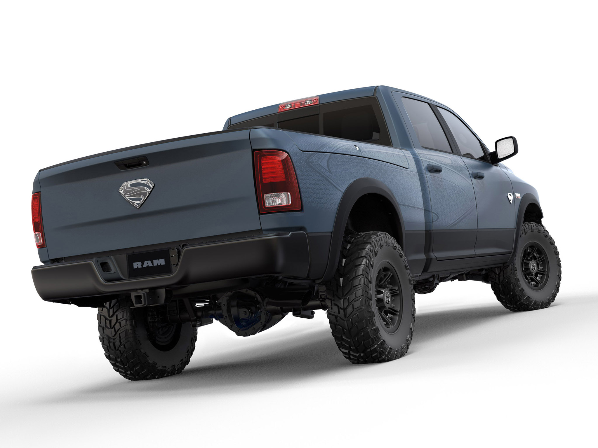 2013 dodge ram superman power wagon truck superhero movie movies 4x4 offroad. Cars Review. Best American Auto & Cars Review