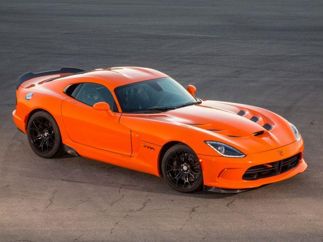 2014 Dodge SRT Viper T-A supercar supercars muscle d wallpaper