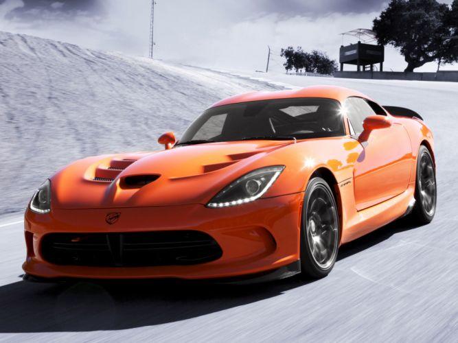 2014 Dodge SRT Viper T-A supercar supercars muscle da wallpaper