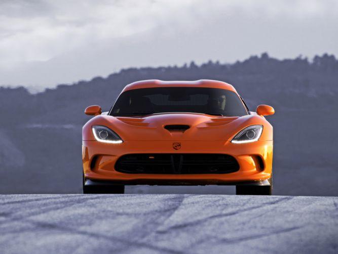 2014 Dodge SRT Viper T-A supercar supercars muscle f wallpaper